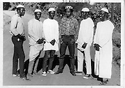 Men stand at the lower side fo Salama on Idd.  (1970s)