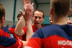 20181124 NED: Volleyball Top League ZVH - VCV: Zevenhuizen<br />Kristian van der Wel, headcoach of CAS CRM ZVH<br />©2018-FotoHoogendoorn.nl / Pim Waslander