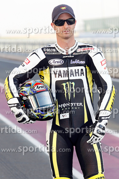 19.03.2010, Doha, Katar, QAT, MotoGP, Fahrerfotos im Bild Colin Edwards - Monster Tech3 Yamaha team, EXPA Pictures © 2010, PhotoCredit: EXPA/ InsideFoto/ Semedia / SPORTIDA PHOTO AGENCY