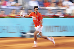 May 12, 2019 - Madrid, Spain - Serbian Novak Djokovic during ATP Singles Finals at Mutua Madrid Open in Madrid, Spain. May 12, 2019. (Credit Image: © Borjab.Hojas/NurPhoto via ZUMA Press)