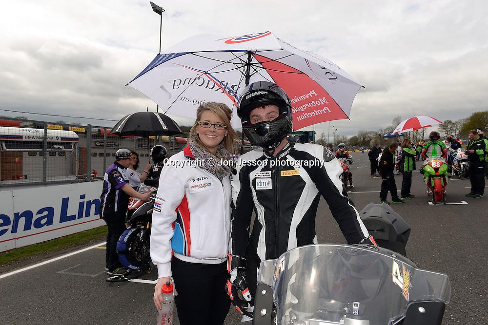 #17 Dominic Usher DU Racing BMW Pirelli National Superstock 1000 Championship