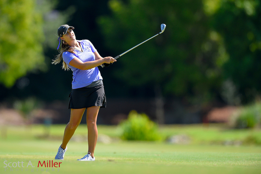 Carleigh Silvers during the final round of the Chico's Patty Berg Memorial on April 19, 2015 in Fort Myers, Florida. The tournament feature golfers from both the Symetra and Legends Tours.<br /> <br /> &copy;2015 Scott A. Miller