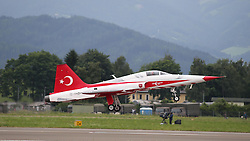 28.06.2013, Fliegerhorst Hinterstoisser, Zeltweg, AUT, AIRPOWER 2013, im Bild, Turkish Stars // during the Airpower 13 Air show on the Air Base Hinterstoisser, Zeltweg, Austria on 2013/06/28. EXPA Pictures © 2013, PhotoCredit: EXPA/ Eibner/ Matthias Neurohr<br /> <br /> ***** ATTENTION - OUT OF GER *****