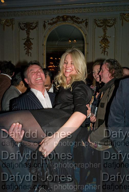 RAYMOND BLANC; NATALIA TRAXEL,  Tatler Restaurant Awards. Mandarin Oriental Hyde Park. Knightsbridge. London. 19 January 2009<br /> RAYMOND BLANC; NATALIA TRAXEL,  Tatler Restaurant Awards. Mandarin Oriental Hyde Park. Knightsbridge. London. 19 January 2009 *** Local Caption *** -DO NOT ARCHIVE-© Copyright Photograph by Dafydd Jones. 248 Clapham Rd. London SW9 0PZ. Tel 0207 820 0771. www.dafjones.com.