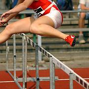 Arenagames 2004, 110 meter horden vrouwen, Laura Molenaar (243)