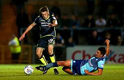 Cameron Hargreaves of Bristol Rovers goes past Luke O'Nien of Wycombe Wanderers - Mandatory by-line: Robbie Stephenson/JMP - 29/08/2017 - FOOTBALL - Adam's Park - High Wycombe, England - Wycombe Wanderers v Bristol Rovers - Checkatrade Trophy