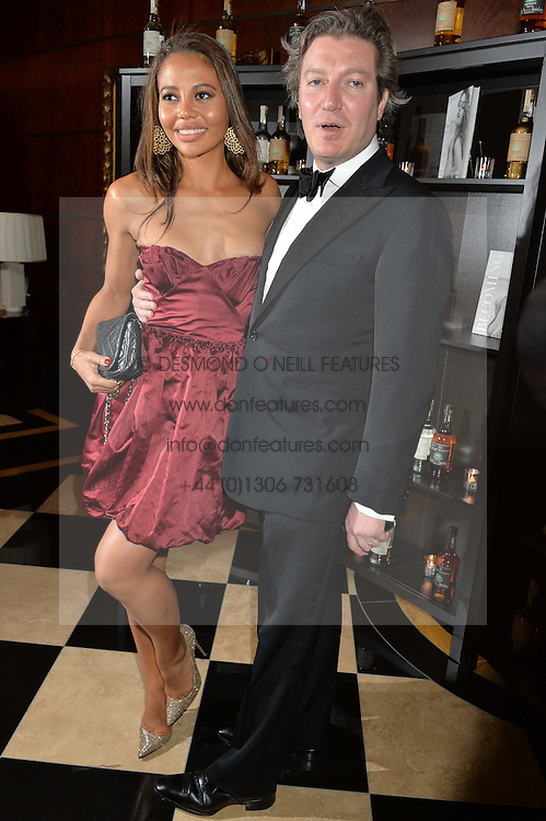 VISCOUNT & VISCOUNTESS WEYMOUTH at the London launch of Casamigos Tequila hosted by Rande Gerber, George Clooney & Michael Meldman and to celebrate Cindy Crawford's new book 'Becoming' held at The Beaumont Hotel, Brown Hart Gardens, 8 Balderton Street, London on 1st October 2015.