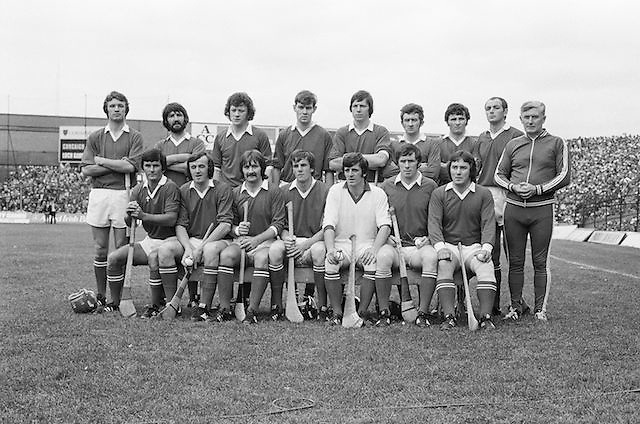 The Wexford team before the All Ireland Senior Hurling Final, Cork v Wexford in Croke Park on the 5th September 1976. Cork 2-21, Wexford 4-11.