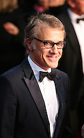 Christoph Waltz. attending the gala screening of The Great Gatsby at the Cannes Film Festival on 15th May 2013, Cannes, France.