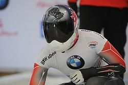 February 23, 2019 - Calgary, Alberta, Canada - Jane Channell (Canada) before her first heat run during BMW IBSF SKELETON WORLD CUP Calgary Canada 23.02.2019 (Credit Image: © Russian Look via ZUMA Wire)