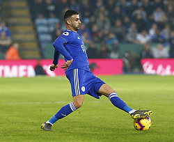 February 23, 2019 - Leicester, England, United Kingdom - Leicester City's Rachid Ghezzal.during English Premier League between Leicester City and Crystal Palace at King Power stadium , Leicester, England on 23 Feb 2019. (Credit Image: © Action Foto Sport/NurPhoto via ZUMA Press)